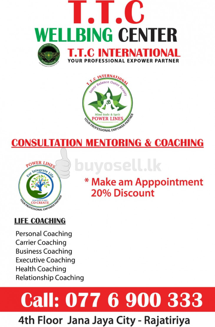 LIFE COACHING in Colombo