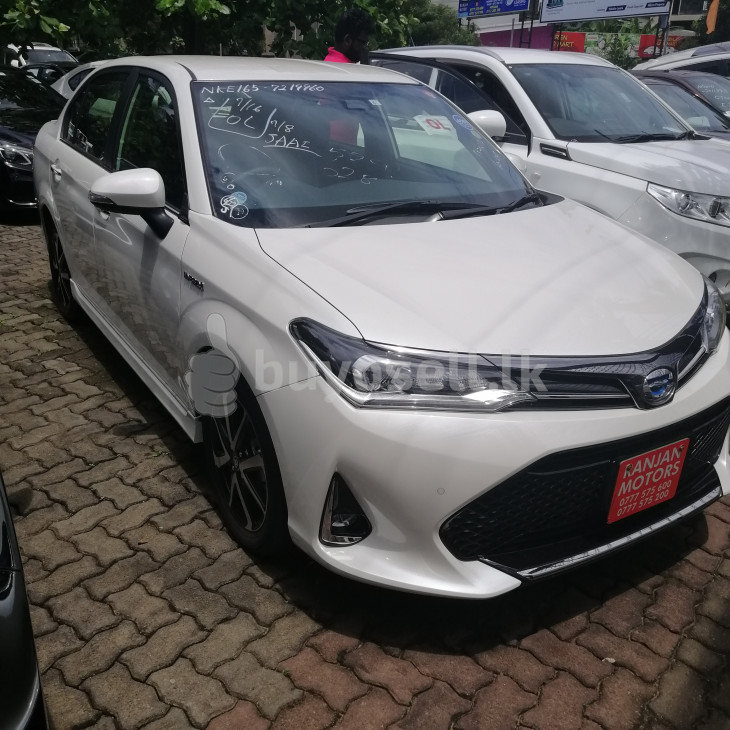 Toyota Axio WXB Hybrid 2019 for sale in Colombo