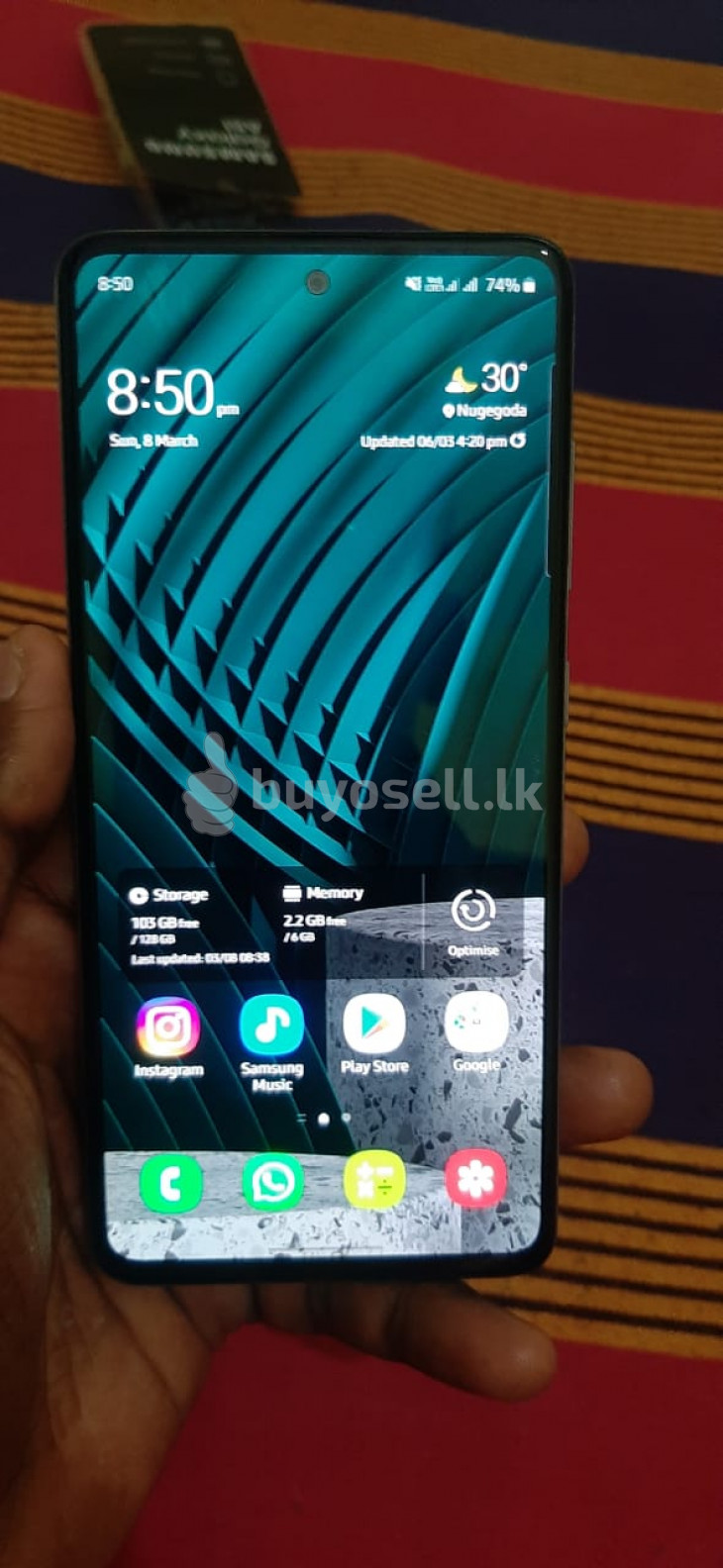 Samsung Galaxy A51 (Used) for sale in Colombo