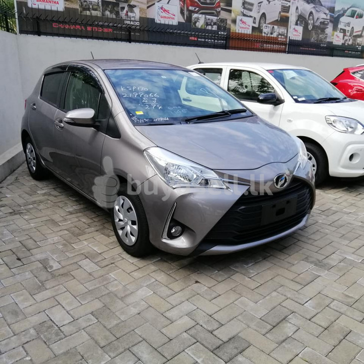 Toyota Vitz light brown 2017 for sale in Gampaha