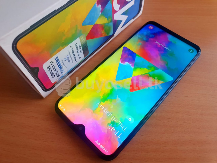Samsung Galaxy M20 64GB , 4GB (Used) for sale in Colombo